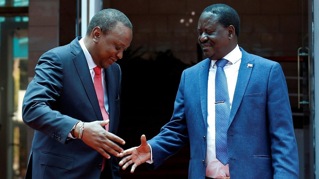 """Kenya opposition suspends """"People's Assembly"""" after Uhuru-Raila meeting"""
