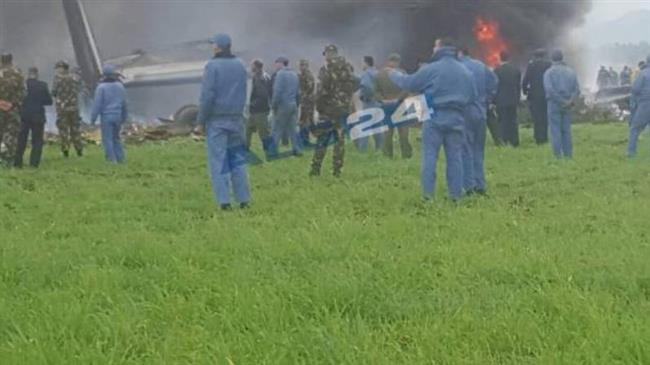 More than 250 dead after military plane crash in Algeria