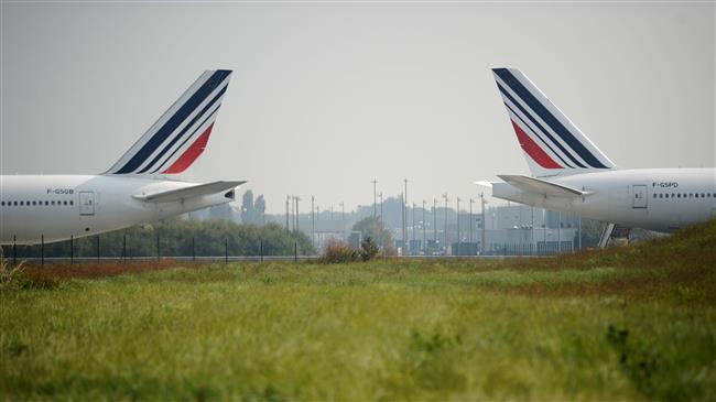 Air France cancels 30 percent of flights amid strikes