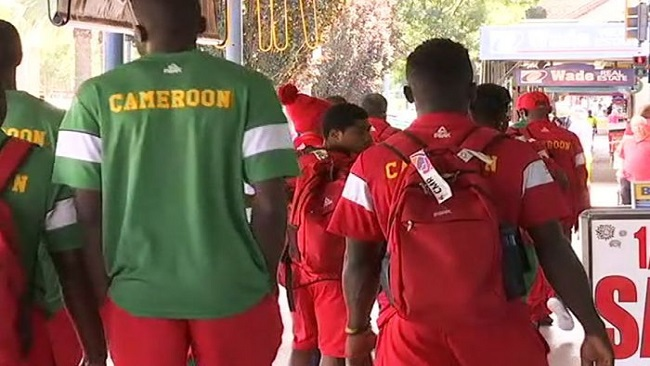 Cameroon team chief says he's heard nothing from missing athletes