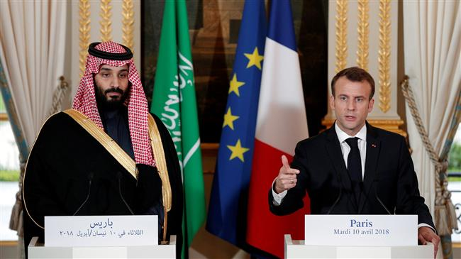 Frances' Macron defends arms sales to Saudi Arabia