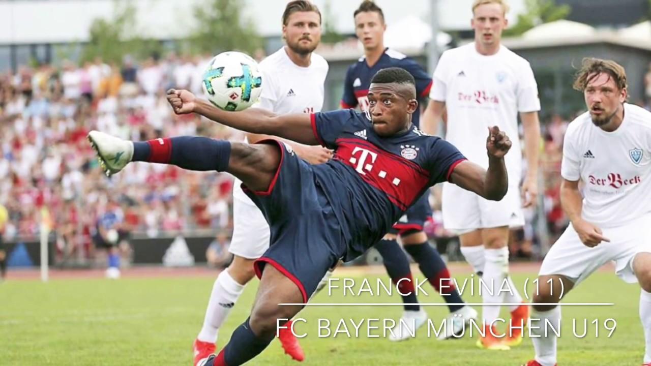 Bayern Munich hand Cameroonian-born Franck Evina professional contract