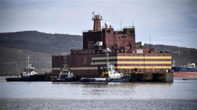 Russia unveils world's first floating nuclear power station