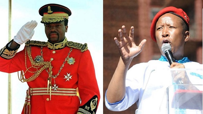 South Africa's Julius Malema says eSwatini king should leave politics and focus on marrying