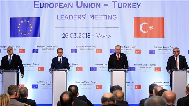 Turkey's EU accession talks deadlocked