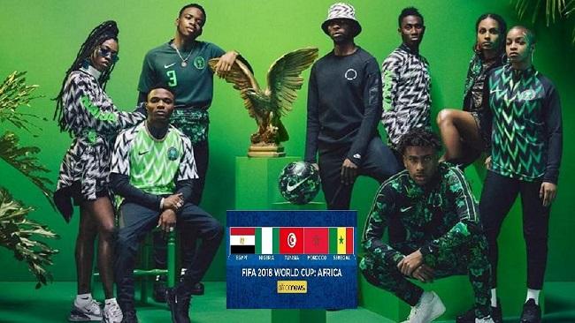 Nigerians celebrate World Cup theme song featuring Davido, Wizkid and JJ Okocha