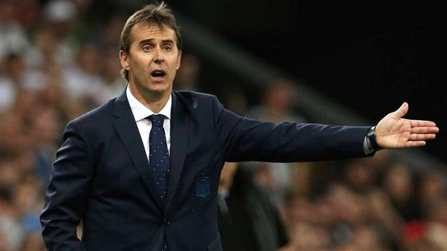Spanish coach Lopetegui dismissed two days before World Cup opening match