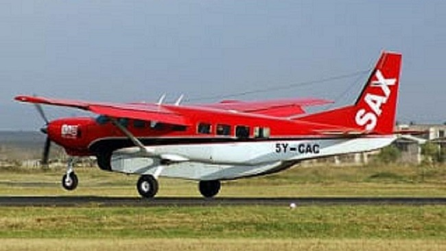 Kenya: Light aircraft goes missing with ten onboard