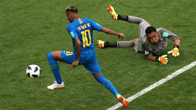 Brazil snatches 2-0 win to sink Costa Rica in 2018 FIFA World Cup