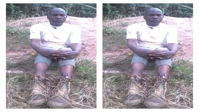 Ambazonian freedom fighters try abducted cop, send him to their Ambazonia prison