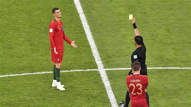 Iran coach slams VAR as Ronaldo escapes red card