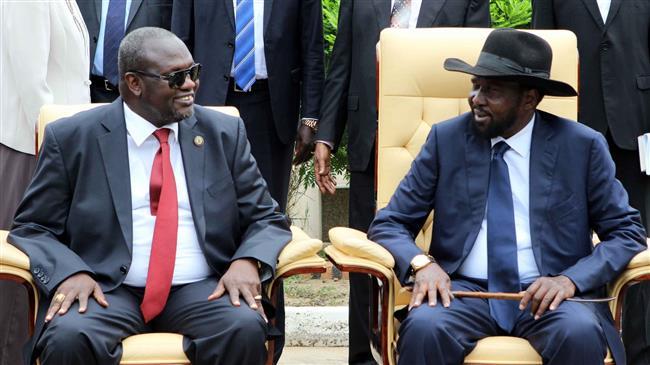 South Sudan president, rebel leader sign peace deal