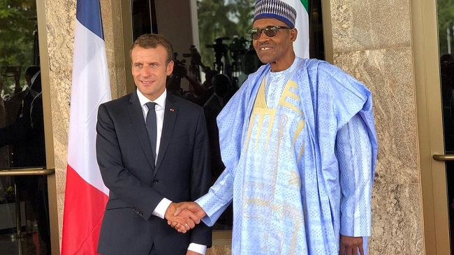 President Macron tells Buhari to use culture to empower youth in fight against Boko Haram