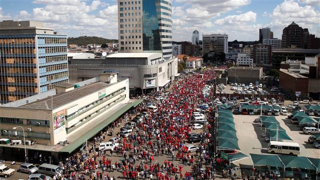 Zimbabweans protest against vote rigging