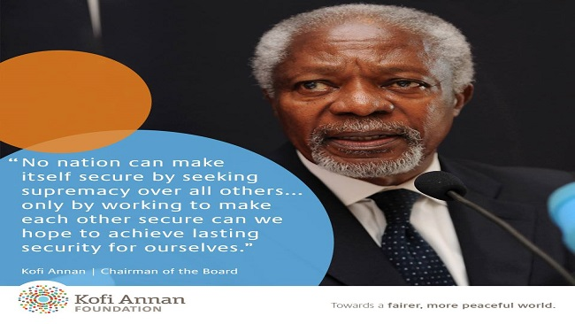 Quotable Quotes: Kofi Annan