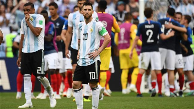 2018 World Cup: France 4-3 Argentina in pictures