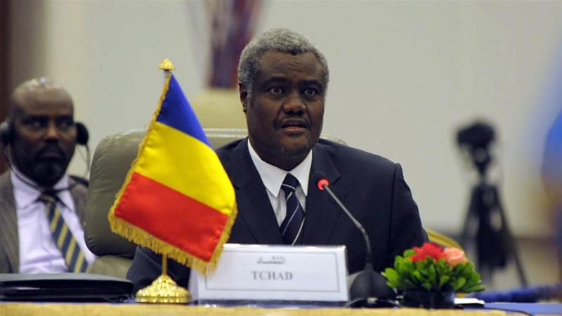 French surrogate Moussa Faki Mahamat re-elected as African Union Commission chairperson
