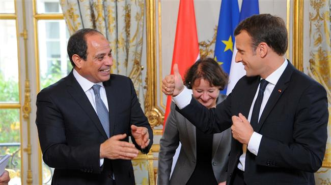 French promoting Egypt's repression through arms sales