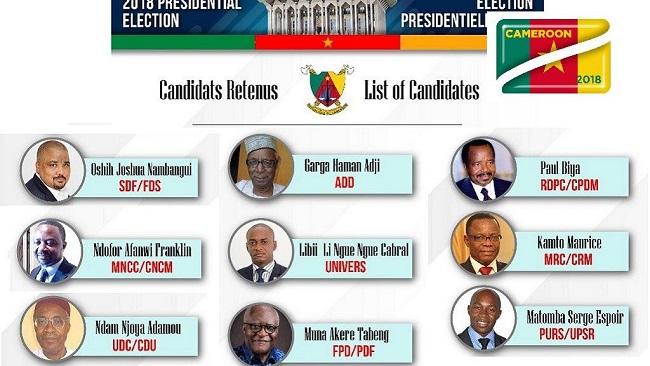 Biya Francophone regime vows 'calm' election despite Southern Cameroons war