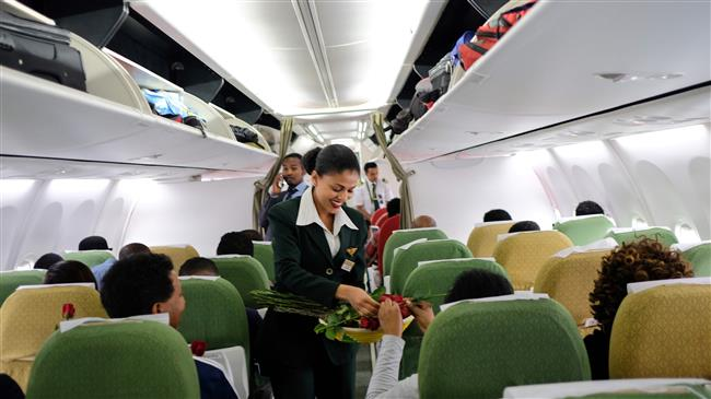 Eritrean airline makes first flight to Ethiopia in 20 years