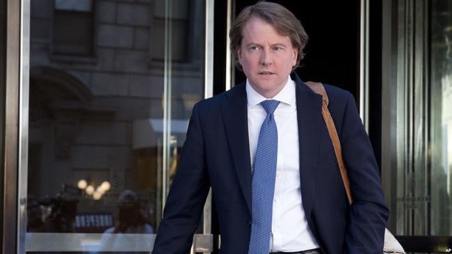 US: McGahn departure marks 17th Trump aide leaving White House