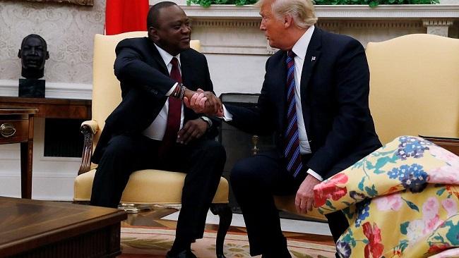 Washington: Trump, Kenyatta to focus on security, trade