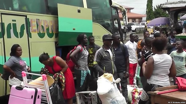 Mass Exodus Underway From Southern Cameroons