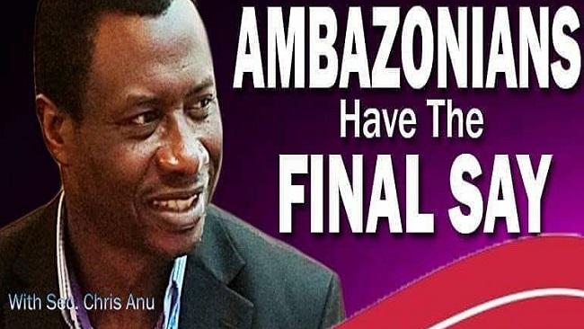 Ambazonia Revolution: Chris Anu no Longer Speaks for the Interim Government