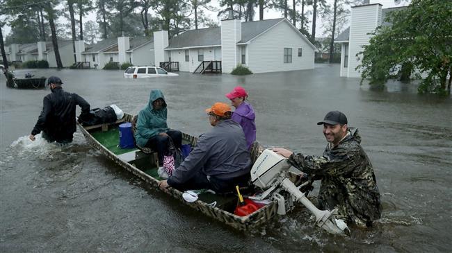 US: Five dead in Carolinas as Florence brings 'epic' floods