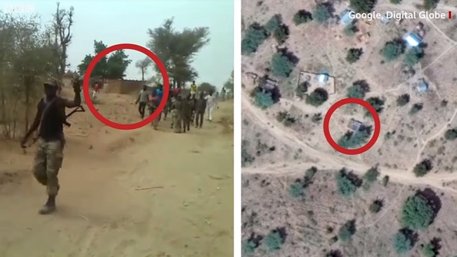 How BBC exposed killing of women, children by Cameroon Army using Google Earth