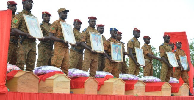Burkina Faso troops killed in 'major attack' by 'terrorist armed groups'