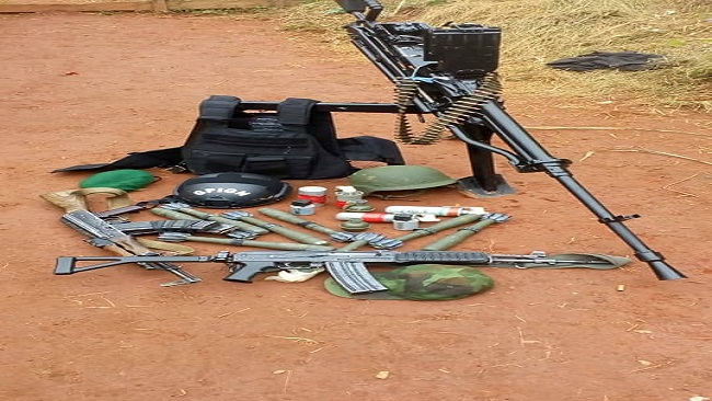 """Biya regime says Ambazonia """"General Capture and Destroy"""" has surrendered his weapons"""