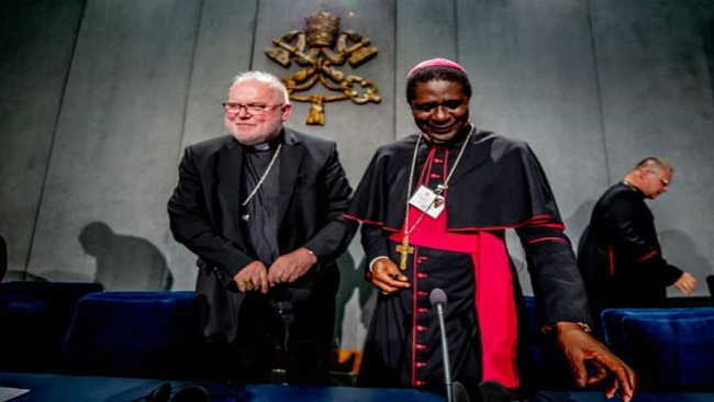 Vatican: Bishop Andrew Nkea says Africa offers synod an example