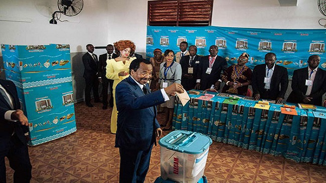 Biya owes much of his survival to a longstanding relationship with various French gov'ts