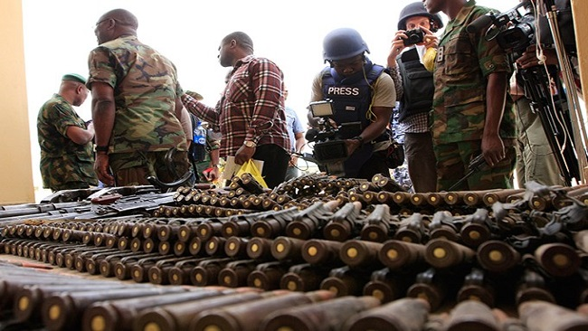 Cameroon alone can't stop illicit arms flooding into the country