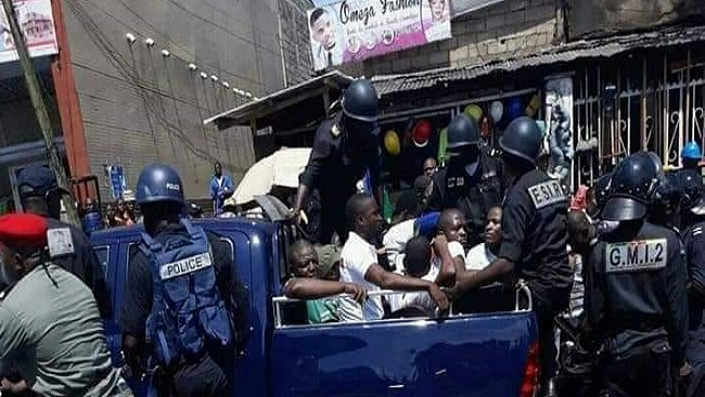 Hundreds of opposition members arrested in French Cameroun