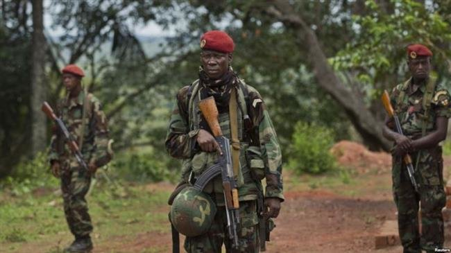 3 soldiers killed in Central Africa army shootout