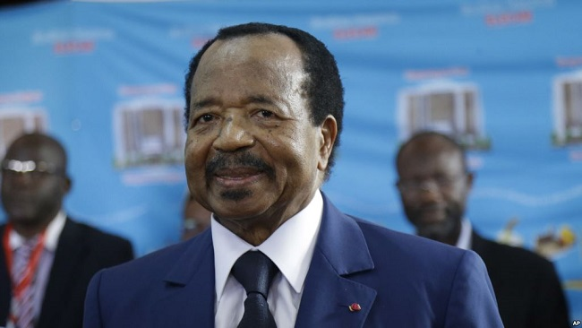 Biya Promises Defeat of Southern Cameroons Restoration Forces