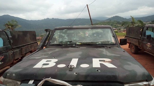 Ambazonia: Red Dragons ambush French Cameroun military convoy, kill at least 28