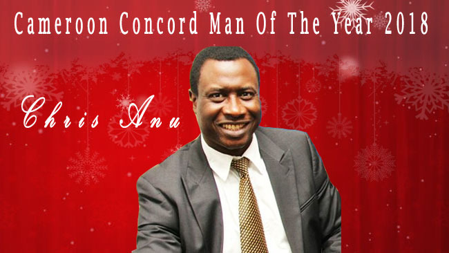 Chris Anu is Cameroon Concord Person of the Year