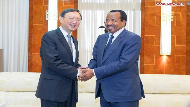 Yaounde and Beijing agree to boost cooperation