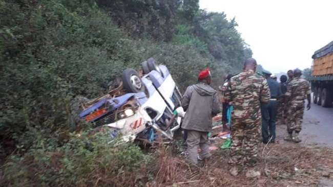 Five die in Douala road accident