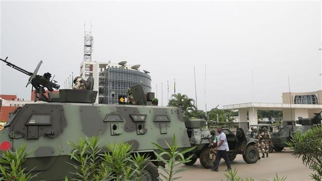 Leader of failed coup in Gabon arrested, two killed
