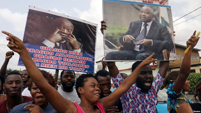Ivory Coast: President Gbagbo supporters welcome ICC decision to uphold acquittal