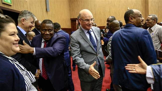Central African Republic signs deal for 'new era' but France's specter looms