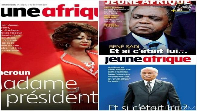 Chantal Biya Crisis: Paris-based Jeune Afrique comes under attack