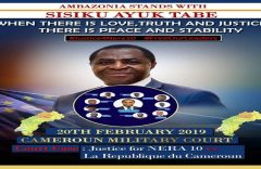 President Sisiku Ayuk Tabe is willing to talk peace, but only with UN backing
