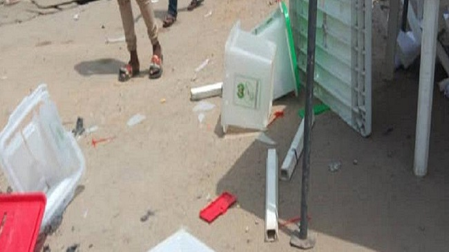Nigeria votes: Lagos polling center rocked by violent disruption