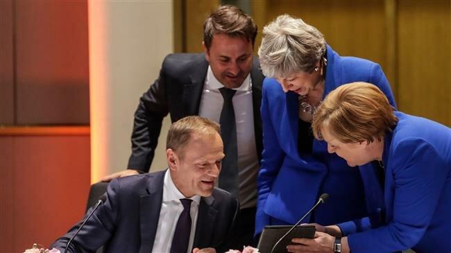 EU leaders agree Brexit delay until October