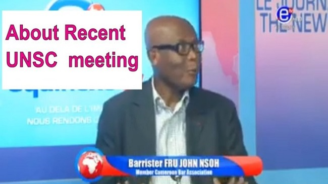 Barrister John Fru Nsoh's Provoked Storm For A Few Dollars More